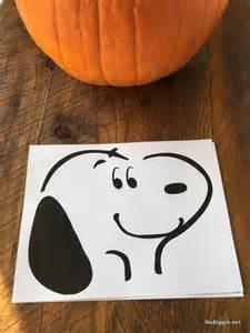 Snoopy Dracula Pumpkin Stencil by The Peanuts Plus Pumpkin Stencil Nobiggie