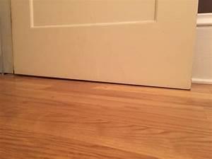 Garage Gap : door sweep uneven floor w variable gap between opened and closed community ~ Gottalentnigeria.com Avis de Voitures