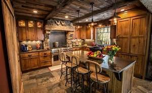 15 Rustic Style Kitchen Design Ideas - Houz Buzz