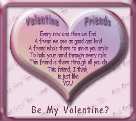 Friends Poem-Valentines