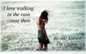 Walking Alone In The Rain Quotes | www.pixshark.com ...
