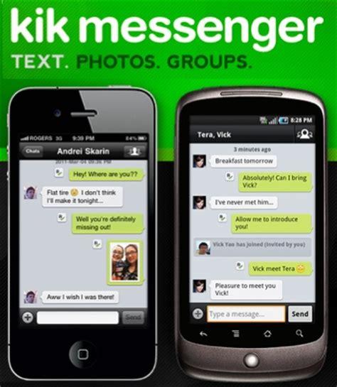 kik iphone why messaging app kik just got 8m quot it s so frickin fast
