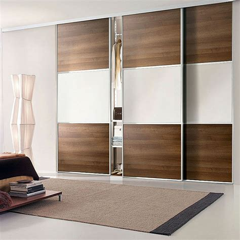 aries closet door brown and white csd 03 acrylic and