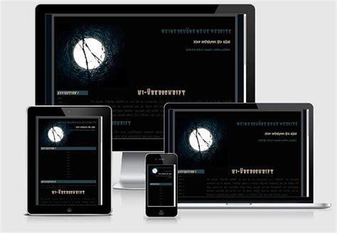 kostenlose homepage vorlagen buttons responsive