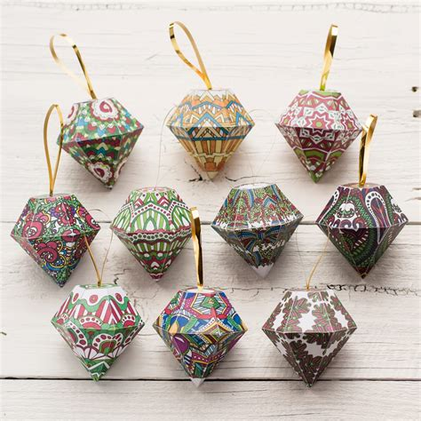 what are christmas ornaments made of diy ornaments 10 pack clark coloring book artist and designer