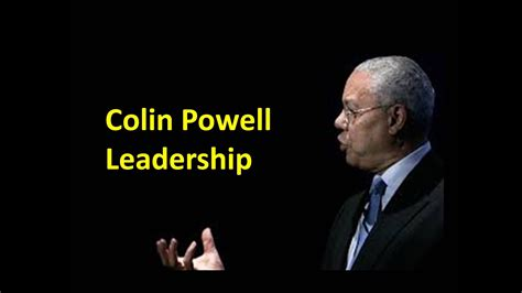 colin powell leadership youtube