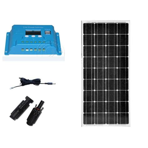 Solar Kit Panel Battery Charger Pwm