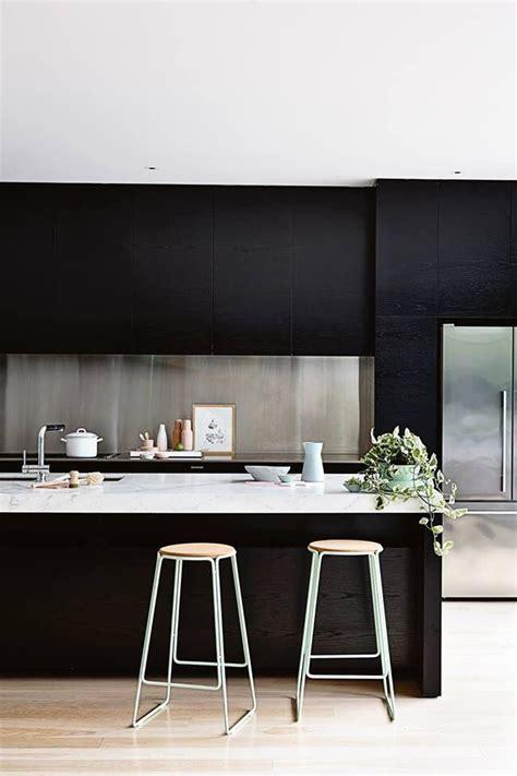 modern kitchens  stainless steel backsplash designs