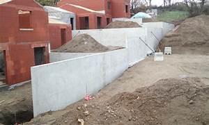 Mur En Béton : mur beton prefabrique soutenement prix ~ Melissatoandfro.com Idées de Décoration