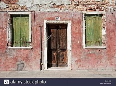 Windows Wall Venice Door Italy Veneto Alamy