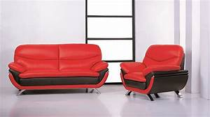 Red and black sofa sofa charming corner bed red thesofa for Red and black sofa bed
