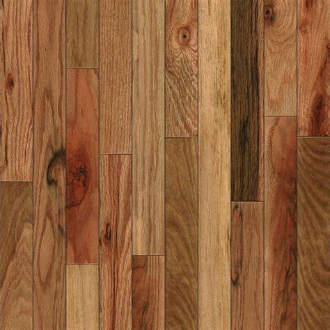 Mohawk Eastridge Natural Oak Solid Hardwood   Rustic
