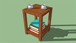 Build Wooden End Table Plans Simple Plans Download fine