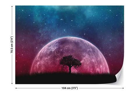 galaxy tree fotobehang behang bestel nu op europostersbe
