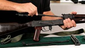 How To Disassemble An Ak-47