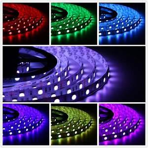 Led Band Dimmbar : 5m led streifen 24v rgb smd 5050 stripe dimmbar leiste lichterkette lichtband ebay ~ Yasmunasinghe.com Haus und Dekorationen