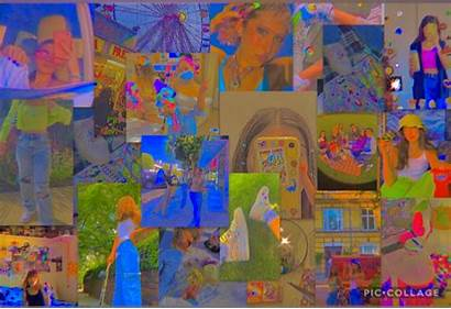 Indie Laptop Aesthetic Kid Computer Desktop Collage