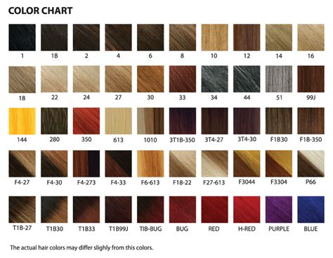 Kanekalon Hair Color Chart 28 Images Enstyle 100