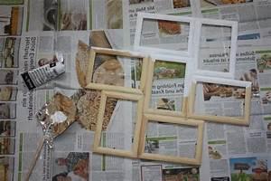 Bilder Collage Basteln : bilderrahmen selber bauen mit einfacher anleitung deko feiern diy zenideen ~ Eleganceandgraceweddings.com Haus und Dekorationen