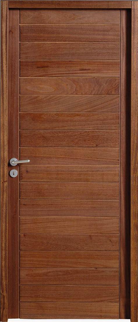 porte des chambres en bois porte intérieure en bois exotique sur mesure portes
