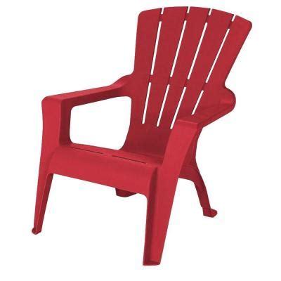 us leisure adirondack chili patio chair 212555 the home