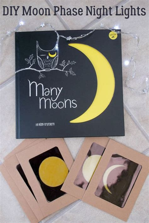 Diy Moon Phase Lights For Make Learn