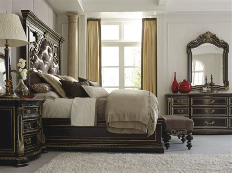 upholstered bedroom sets the mezzanotte upholstered bedroom collection