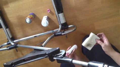 Stroller Maintenance Removing Rust And Cleaning The