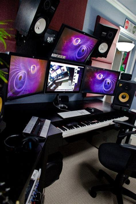 home recording studio setup ideas infamous musician