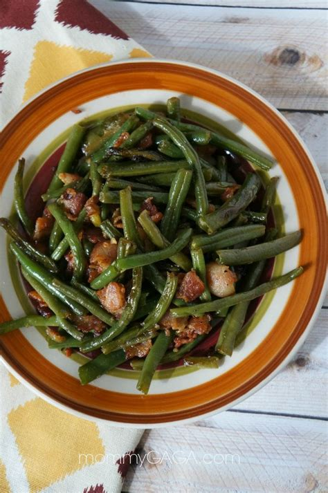 green beans recipe for thanksgiving dinner bacon green bean side dish a quick must try thanksgiving dinner idea food recipes and kitchen