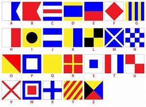 25 best phonetic codes images on pinterest phonetic With nautical flag letters