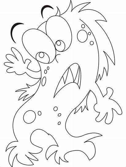 Coloring Pages Face Am Afraid Scared Enough