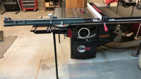 table saw stops dog saw stop sliding table youtube