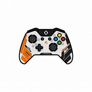 controller, gamer, xbox one, titanfall icon