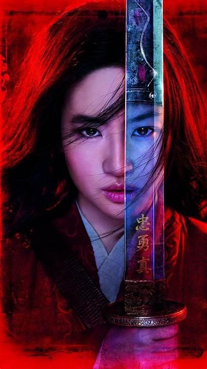 Mulan Warrior Wallpapers Yifei Liu Disney Poster