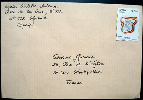 penpalling  letters   address  envelope