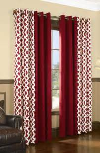 Printed Drapes Curtains by Grommet Top Curtains Grommet Top Window Curtains