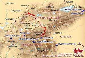 Where Is The Pamirs Mountains Located On A World Map 86008 ...