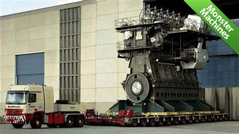 World S Most Powerful Engine by World S Largest And Most Powerful Diesel Engine