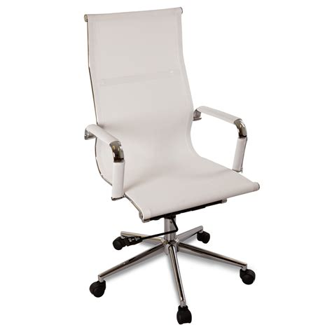 modern ergonomic desk chair new white modern ergonomic mesh high back executive