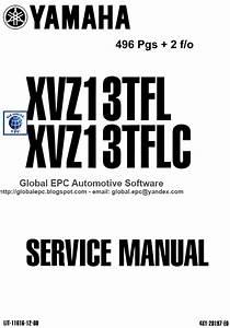 Auto Moto Repair Manuals  Yamaha Xvz13 Xvz1300 Tf Royal