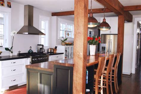 kitchen island and bar kitchen island bar ideas with grothouse wood surfaces