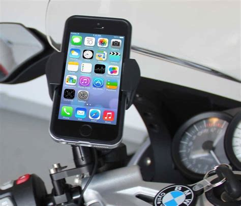 bmw motorcycle cell phone control mount radarbusterscom