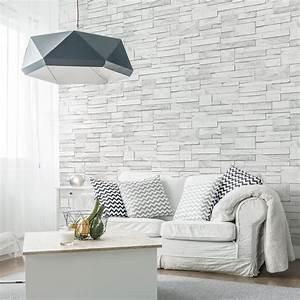 Pose De Papier Peint Intissé : papier peint intiss brique marbre leroy merlin ~ Dailycaller-alerts.com Idées de Décoration