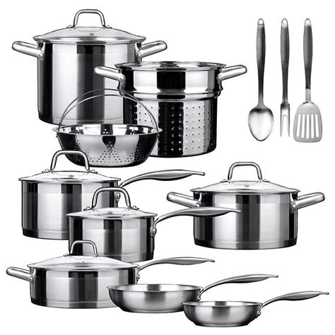 best cookware set top 10 best induction cookware sets 2018 heavy com