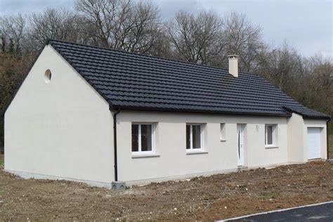 plan maison plain pied 2 chambres construction maison plain pied loélie construction