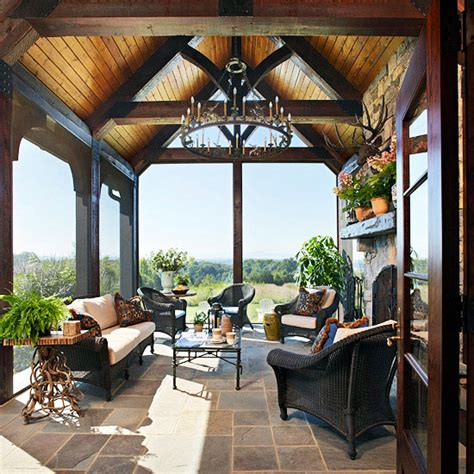 screened in porch decorating ideas and photos screened in back porch decorating ideas images