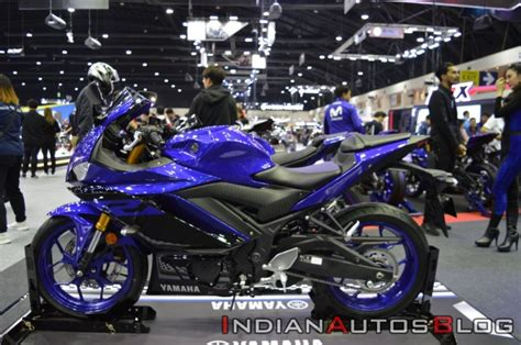India-bound 2019 Yamaha Yzf-r3 At The Thai Motor Expo