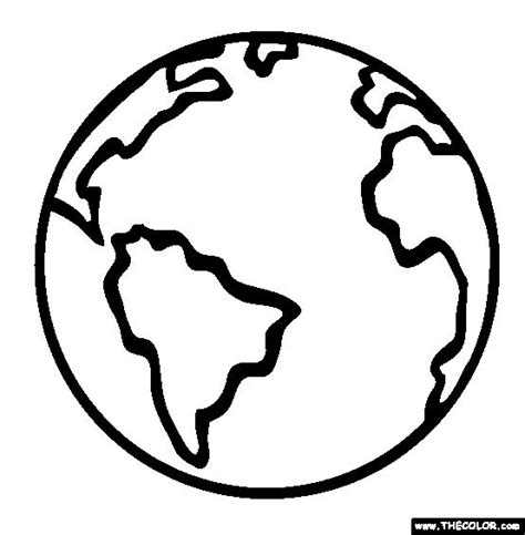 ideas  earth coloring pages  pinterest