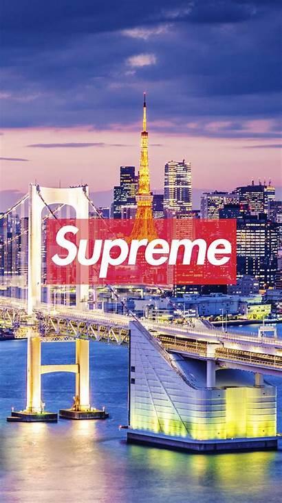 Supreme Tokyo Wallpapers Iphone York Desktop Tablet